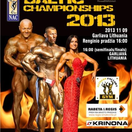 2013 Baltic Bodybuilding Championships