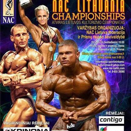 2014 Lietuvos kultūrizmo čempionatas, Prienai