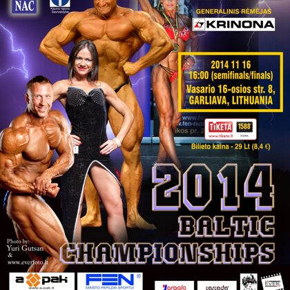 2014 Baltic Bodybuilding Championships