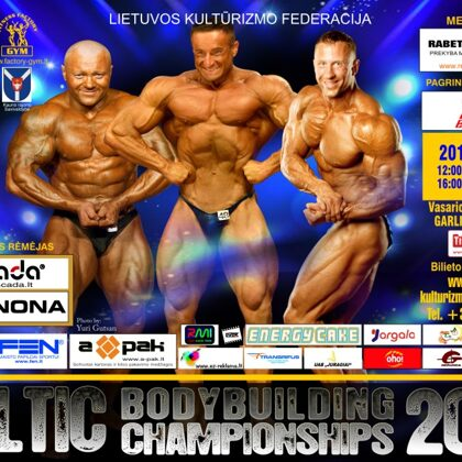2015 Baltic Bodybuilding Championships