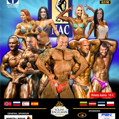 2016 Baltic Bodybuilding Championships