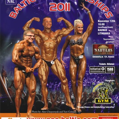 2011 Baltic Bodybuilding Championships